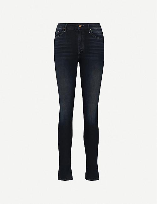 MOTHER The Looker slim-fit skinny mid-rise jean