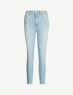 MOTHER Looker cropped skinny mid-rise jeans