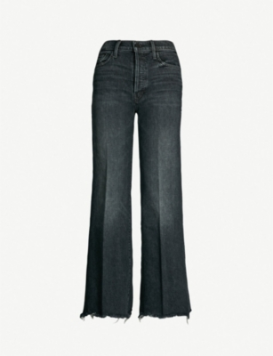 MOTHER The Tomcat Roller Chew frayed mid-rise jeans