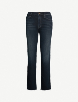 MOTHER Rascal high-rise skinny jeans