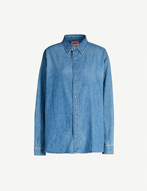ACNE STUDIOS Stevie oversized denim shirt