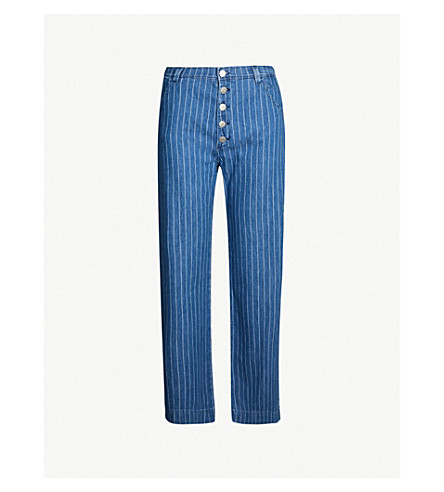 afe04bfd70f MIH JEANS - Paradise striped jeans | Selfridges.com