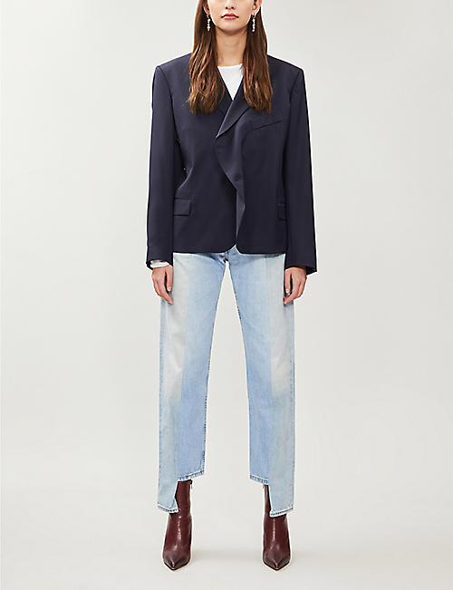 E.L.V. DENIM The Boyfriend straight high-rise jeans