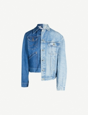 E.L.V. DENIM The Twin Crop denim jacket