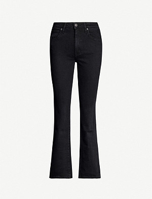 SLVRLAKE Crystal straight-leg high-rise jeans