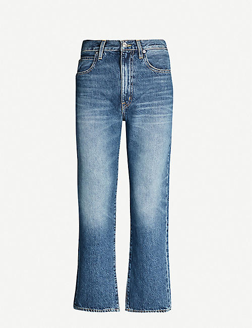 SLVRLAKE London straight-leg denim jeans