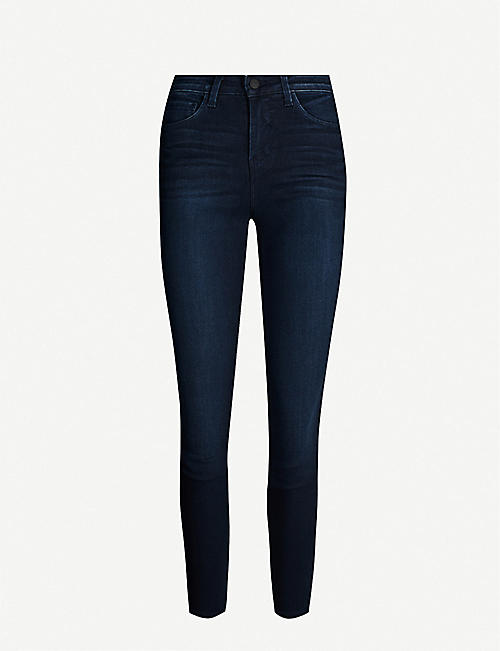 L'AGENCE Marguerite high-rise skinny stretch-denim jeans