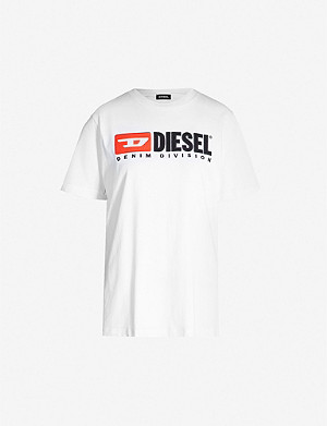 DIESEL Logo-print cotton T-shirt