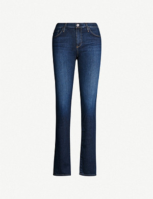 AG The Harper skinny straight mid-rise jeans