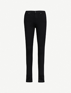 AG The Farrah skinny high-rise jeans