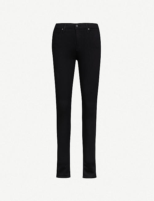 AG: The Farrah skinny high-rise jeans