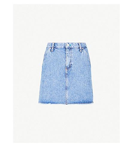 e98095aec2d ... TOMMY JEANS High-rise denim mini skirt (Mid+blue+denim. PreviousNext