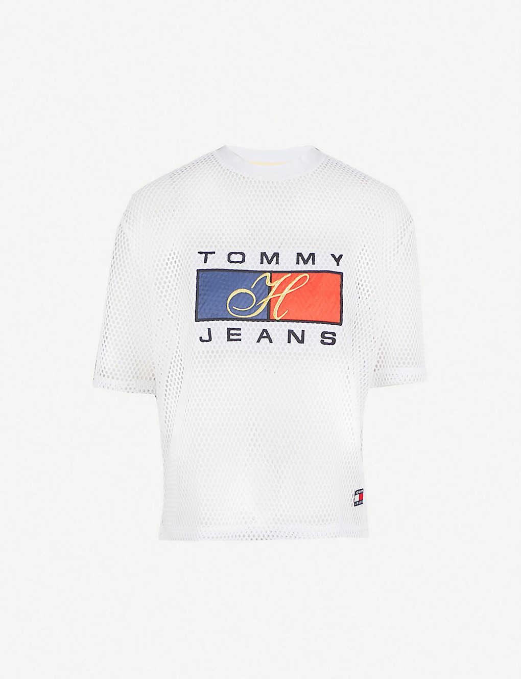 d03da6518689e TOMMY JEANS - 90s mesh T-shirt | Selfridges.com