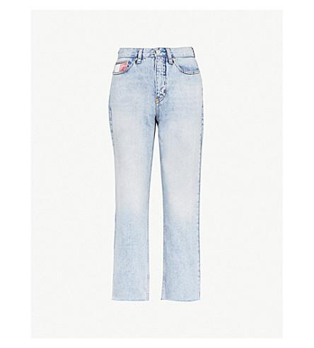 736ef92e TOMMY JEANS - '90s Mom-fit tapered jeans | Selfridges.com