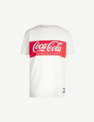TOMMY JEANS Tommy x Coca Cola short-sleeved cotton T-shirt
