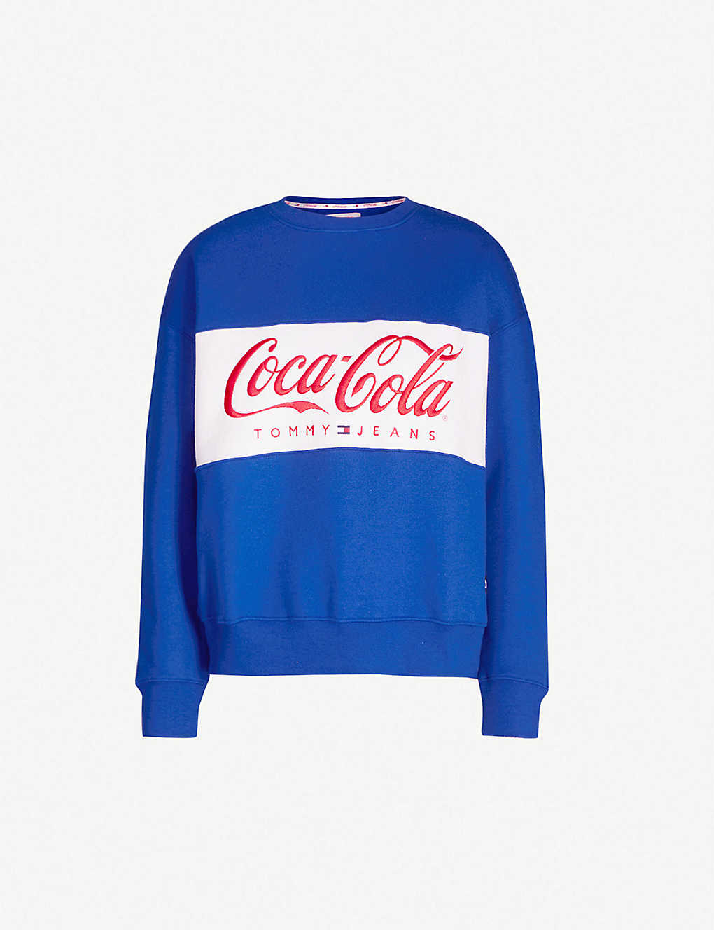 fd435c869a0 TOMMY JEANS - Tommy Jeans x Coca Cola branded cotton-blend sweatshirt