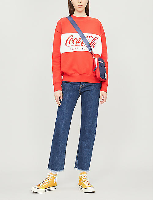 TOMMY JEANS Tommy x Coca Cola cotton sweatshirt