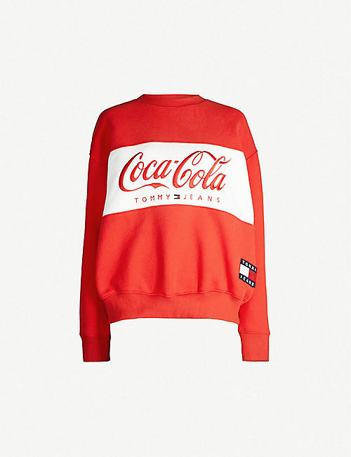 dea36a5b TOMMY JEANS Tommy x Coca Cola cotton sweatshirt