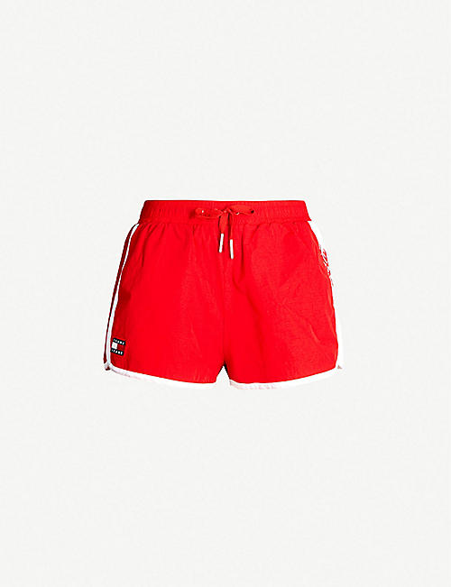 TOMMY JEANS Tommy x Coca Cola drawstring shell shorts