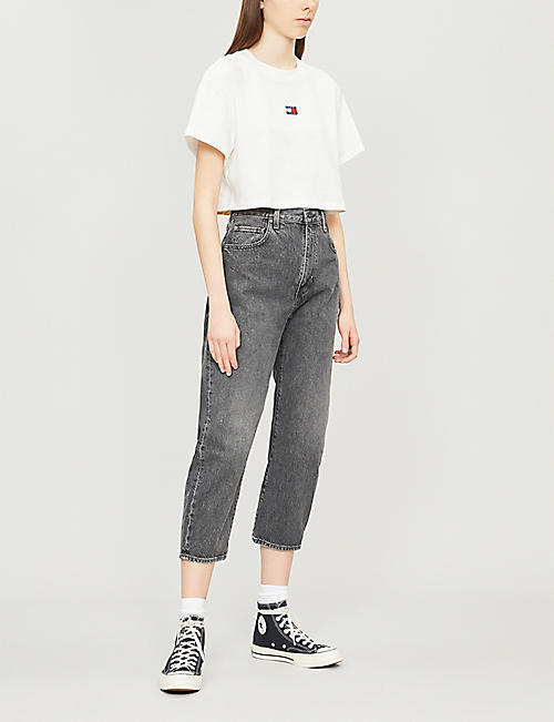 TOMMY JEANS Tommy x Coca Cola cropped cotton T-shirt