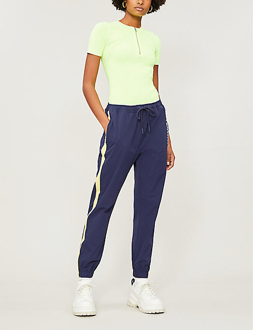 TOMMY JEANS Side-striped shell jogging bottoms