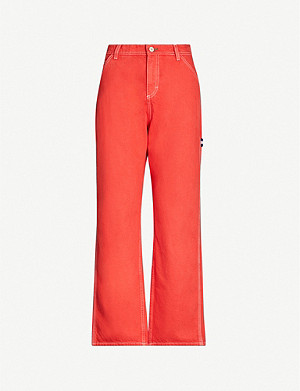 TOMMY JEANS Summer Carpenter wide-leg high-rise jeans