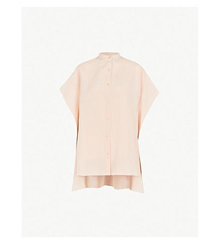 5d21b9db21ac79 DIANE VON FURSTENBERG Asymmetric silk top (Pale+pink