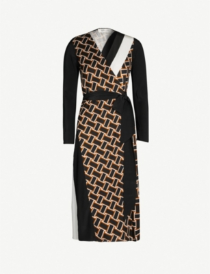 ELIZABETH AND JAMES Maureen silk-crepe dress