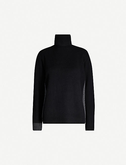 DIANE VON FURSTENBERG Apple turtleneck wool-blend jumper