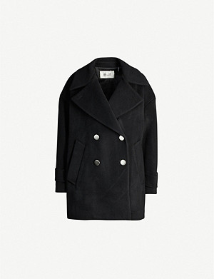 DIANE VON FURSTENBERG Olivera double-breasted wool coat