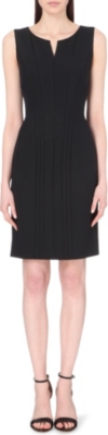 HUGO BOSS Daladi fitted sleeveless dress