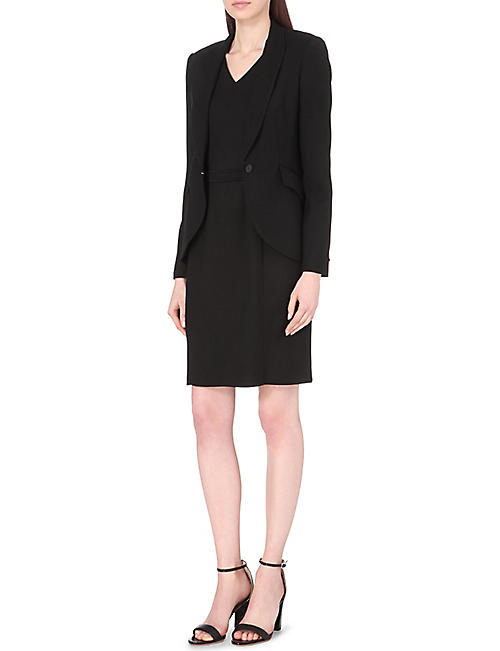 HUGO BOSS Desila wool-blend dress