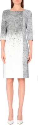 HUGO BOSS Paint splatter dress