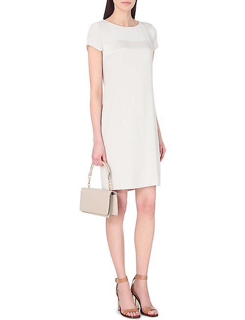 HUGO BOSS Ditrasa crepe dress