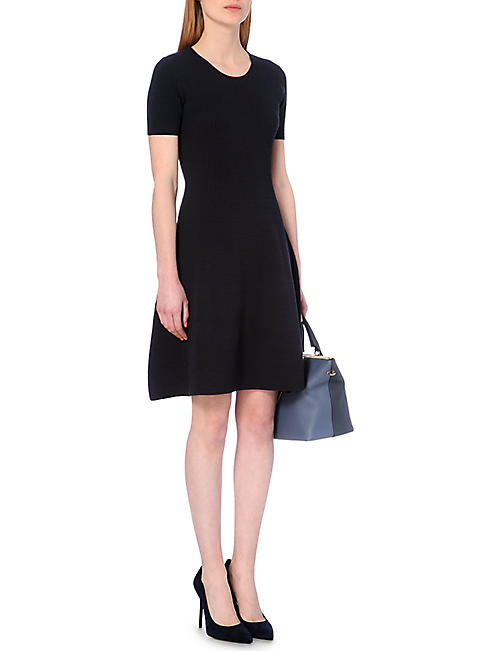 HUGO BOSS Fleala knit dress