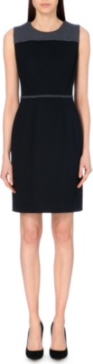 HUGO BOSS Heta woven shift dress