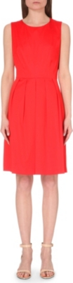 HUGO BOSS Hilja stretch-cotton dress