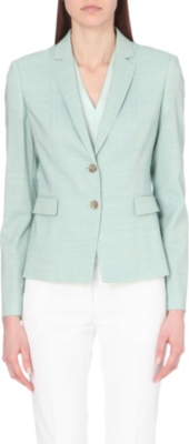 HUGO BOSS Stretch-wool jacket
