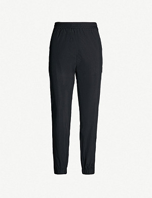 AAPE Side-striped shell jogging bottoms