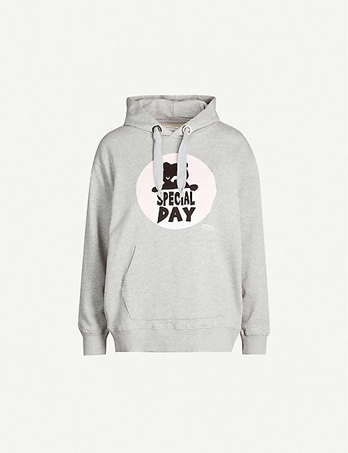 CHOCOOLATE Special Day Bear cotton-jersey hoody