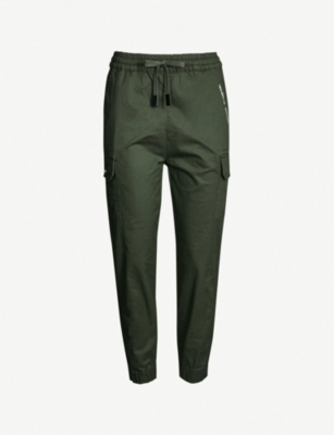 MUSIUM Pocket-detail tapered cotton trousers