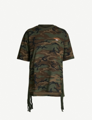 MUSIUM Camouflage-print logoed cotton-jersey T-shirt