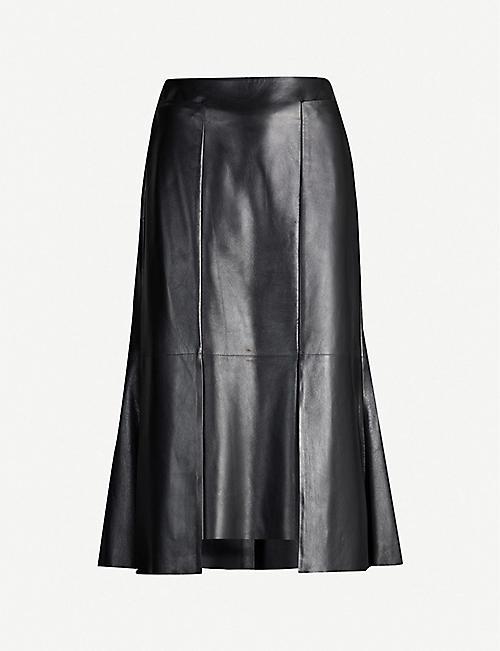 3cdb70f95f71b6 Leather - Skirts - Clothing - Womens - Selfridges   Shop Online