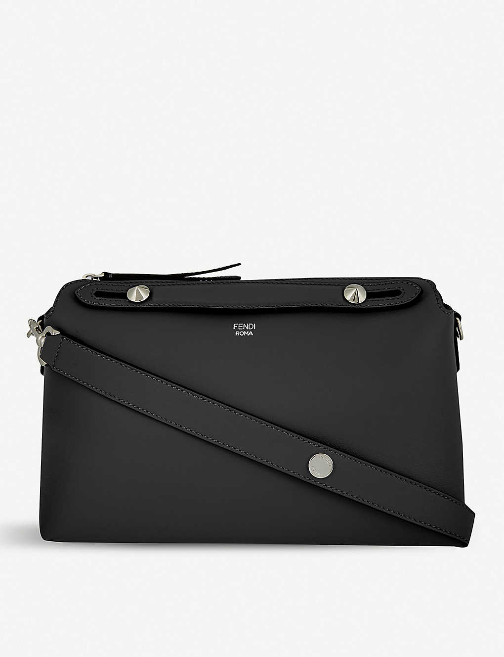 2c3a65386a08 By The Way small leather tote - Black ...