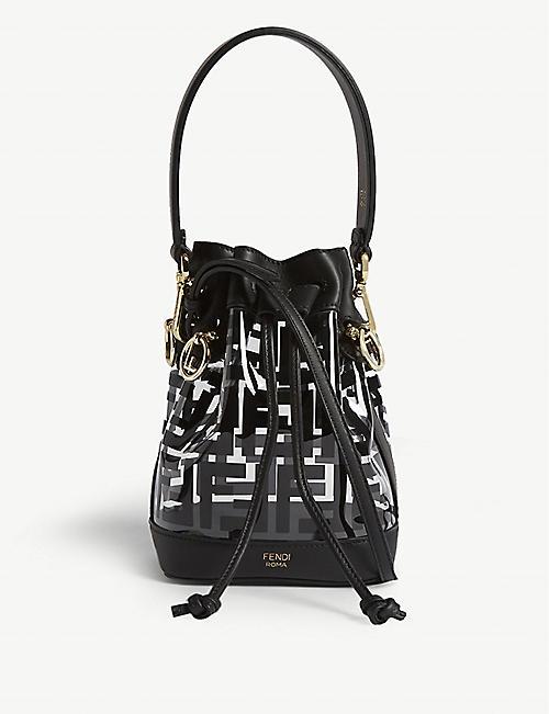 78f0559c1f5c FENDI PVC mini bucket bag
