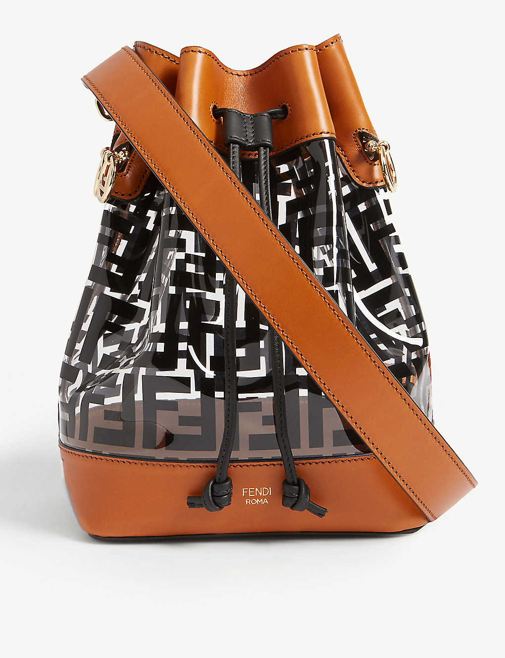 FENDI: PVC medium bucket bag