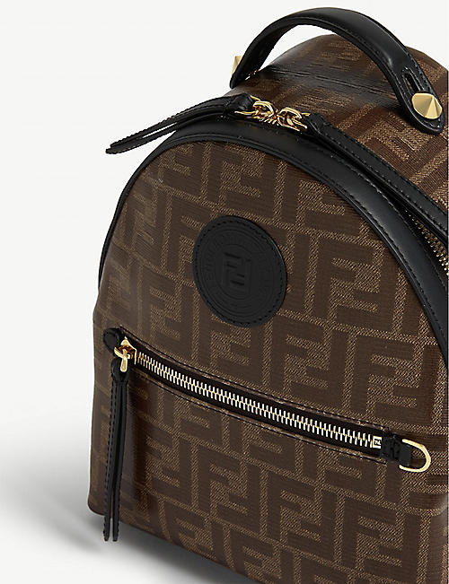 FENDI FF logo backpack