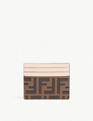 eaff08b5a5 THOM BROWNE - Leather card holder   Selfridges.com