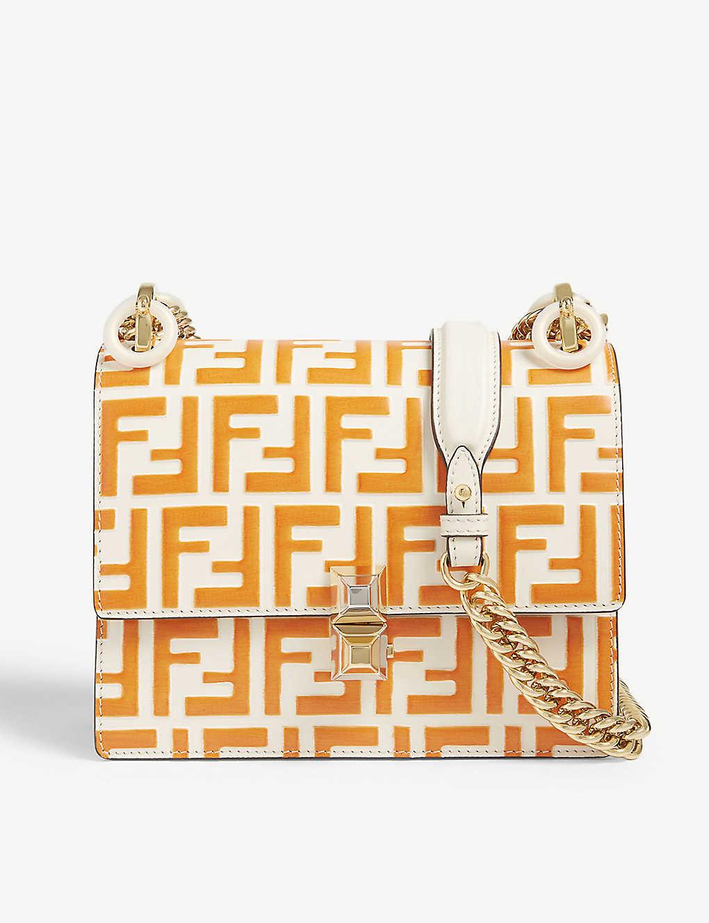 1b4b4acd3afc FENDI - FF print cross-body bag