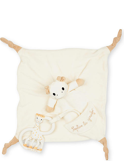 SOPHIE THE GIRAFFE Comforter and teething set